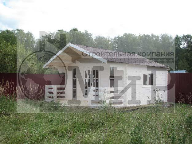 Летний дом из минибруса 109