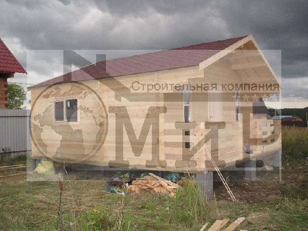 Дачный дом из минибруса 85