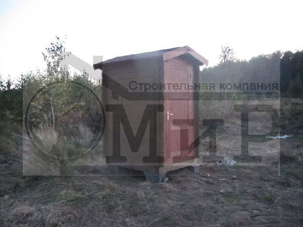 Туалет из минибруса 124